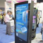 Cung cấp màn hình quảng cáo LCD cảm ứng 42 inch xoay vòng