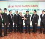 Tổ chức sự kiện lễ khai trương giao dịch cổ phiếu của Công ty Cổ phần Đầu tư Phát triển Gas Đô thị