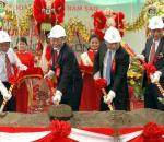Khởi công dự án phố thương mại Long Định